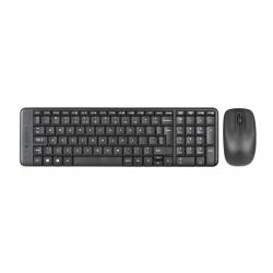 Zestaw klawiatura + mysz membranowa Logitech MK220 Bezprzewodowe