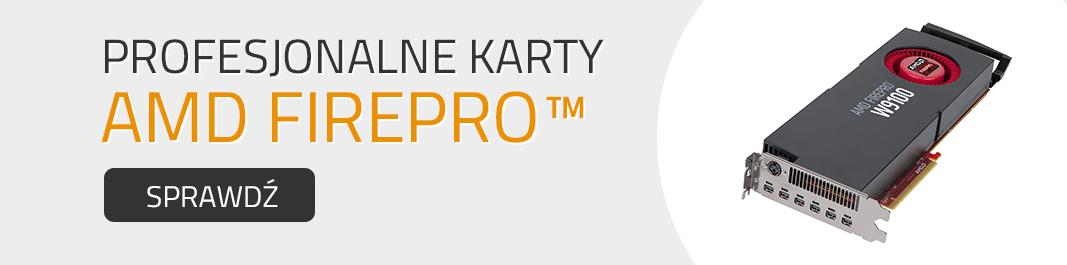 Profesjonalne Karty AMD FirePRO